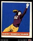1948 Leaf # 18 Harry Gilmer Washington Redskins (Football Card) Dean's Cards 4 - VG/EX Redskins