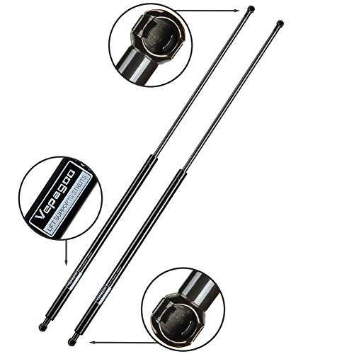 Vepagoo 6245 Front Hood Struts Shocks Compatible with BMW Shock Strut 745Li 745i 750Li 750Li xDrive 750i 750i xDrive 760Li 760i BMW Alpina B7 Gas Charged Hood Lift Support Prop (Set of 2)