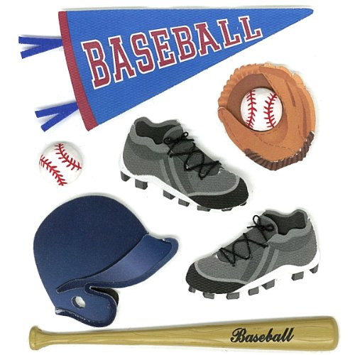 Jolee's Boutique  Baseball Dimensional ()