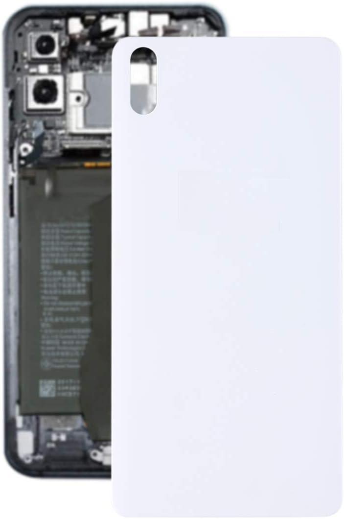 SHUFEIVICC La batería Cubierta Trasera for BQ Aquaris X5 (Blanco) (Color : White)