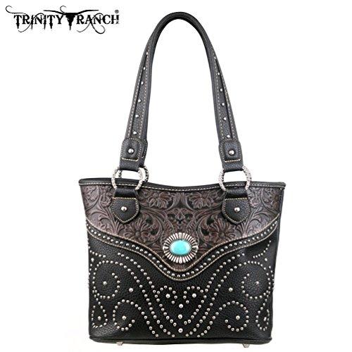 montana-west-tr14-8005-trinity-ranch-tooled-design-black-western-handbag-purse