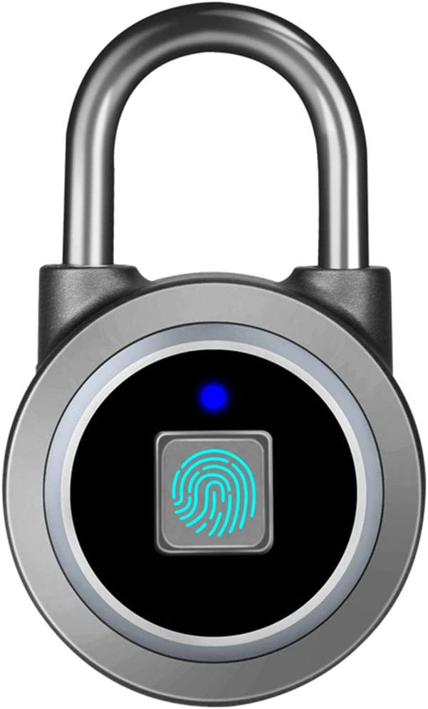 Fingerprint/Bluetooth Padlock by MEGAFEIS