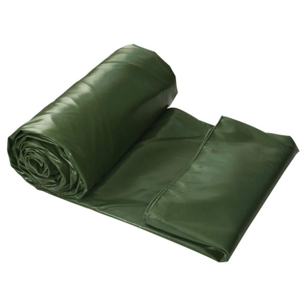 HSBAIS 頑丈な防水ターポリン、アーステント多目的防水ポリタープカバー,Green_4x5m B07PCHVF26 Green 4x5m