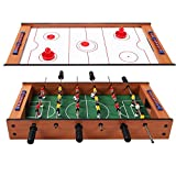 CWY 2 in 1 in Outdoor Air Hockey Foosball Game Table Only by eight24hours