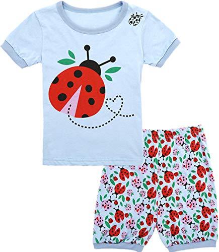 Qtake Fashion Girls Pajamas Balloons Set Children Clothes Set Deer 100% Cotton Little Kids Pjs Sleepwear (Pajamas10, 3T)]()