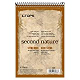 TOPS Second Nature Steno Books, 6'' x 9'', Gregg Rule, 80 Sheets, 12 Pack (74688)