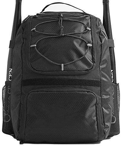 DAVID.ANN Baseball Bat Bag - Backpack for Baseball, T-Ball & Softball Equipment & Gear ()