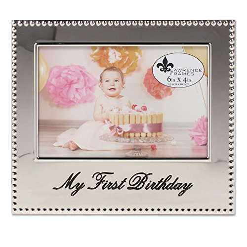 Lawrence Frames 4x6 My First Birthday Picture ()