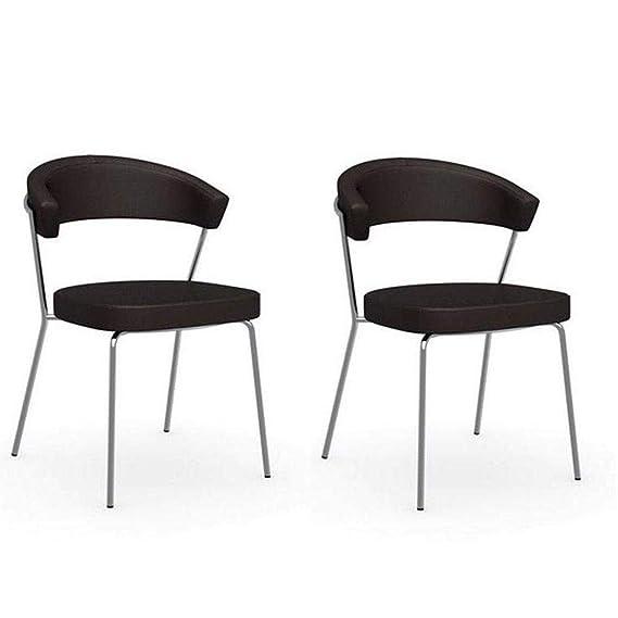 Inside - Juego de 2 sillas Italiana Design New York ...
