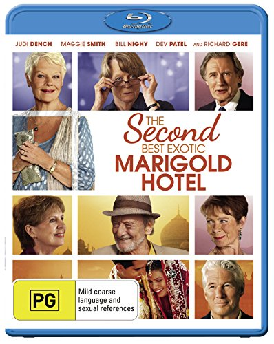 The Second Best Exotic Marigold Hotel | John Madden's | NON-USA Format | Region B Import - Australia