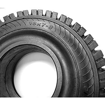 Rueda Maciza 18x7-8 Clip para carretilla elevadora: Amazon.es: Industria, empresas y ciencia