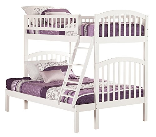 Richland Bunk Bed, Twin Over Full, (Arch Slat Bedroom Set)