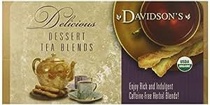 Davidson's Tea Single Serve Raspberry Creamm Caramel, 100-Count Tea Bags