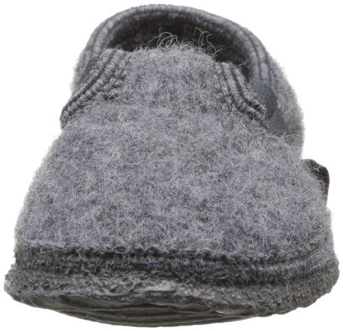 Giesswein Türnberg - Zapatillas de casa de lana infantil Gris (Schiefer)