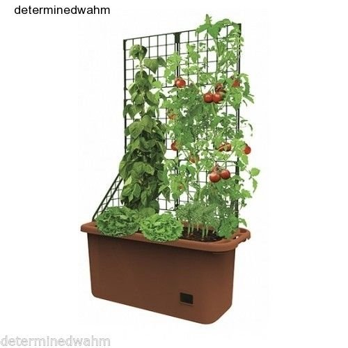 Nessagro Self Watering Planter Vegetable Patch Garden Patio Mobile Deck Vertical Grower .#GH45843 3468-T34562FD114965