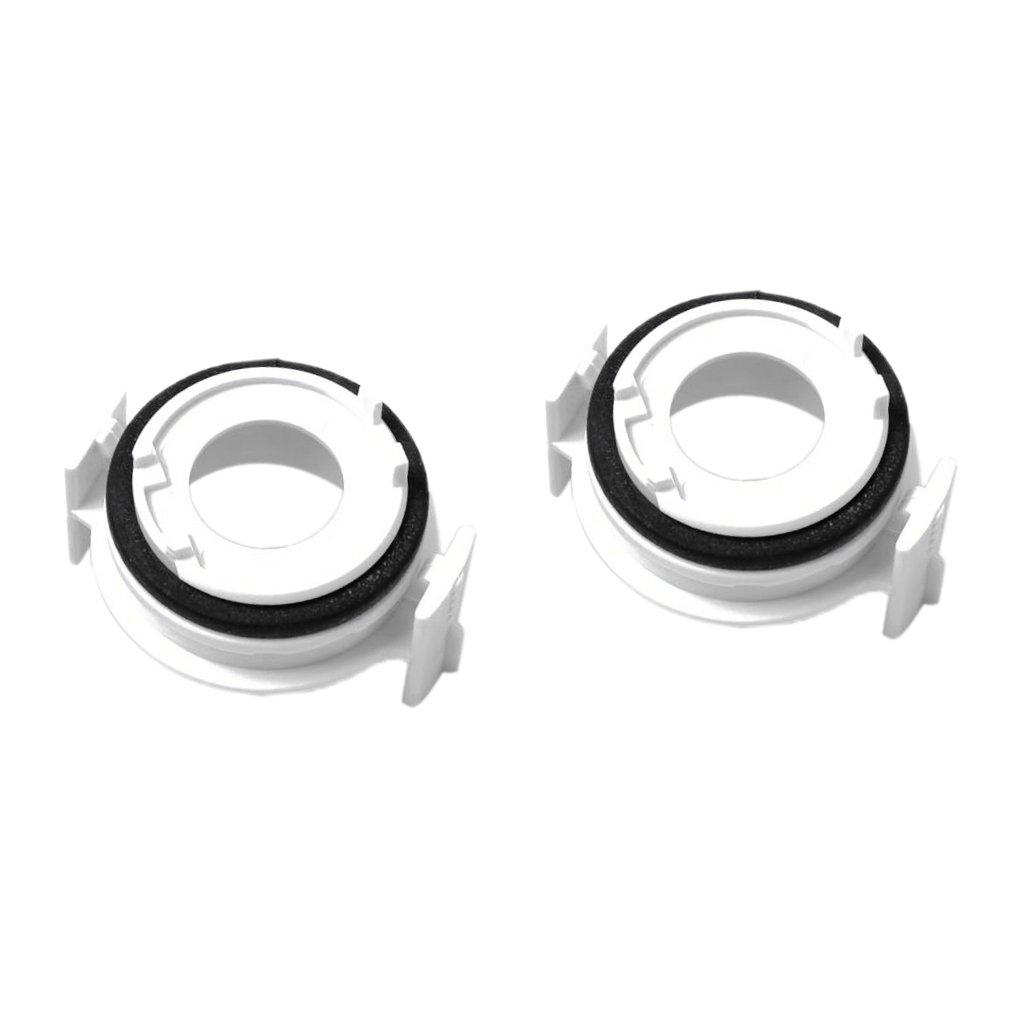 Sharplace 2x Portalampada Adattatore Lampadine Accessorio Automobile - Bianco non-brand