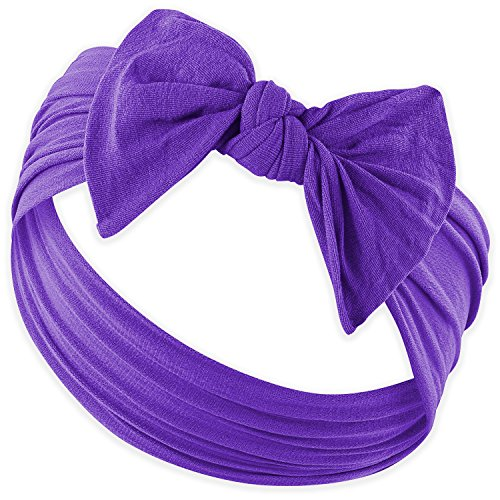 (YOUR NEW FAVORITE BABY HEADBANDS - Super Stretchy Knot Baby Headband For Newborn Headbands and Baby Girls Headbands)