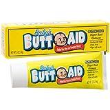 Baby's Butt Aid Diaper Rash Cream/Ointment, 2-oz. Tubes (Pack of 3)