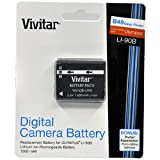 Vivitar Olympus LI-90 Replacement Rechargeable Lithium Ion Battery for Olympus STYLUS TOUGH TG-1
