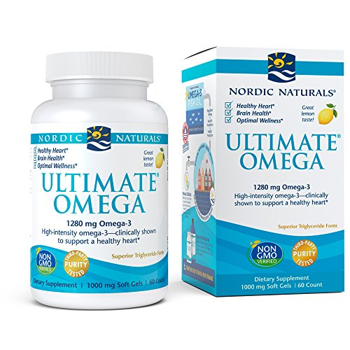 Nordic Naturals - Ultimate Omega, Support for a Healthy Heart, 60 Soft Gels