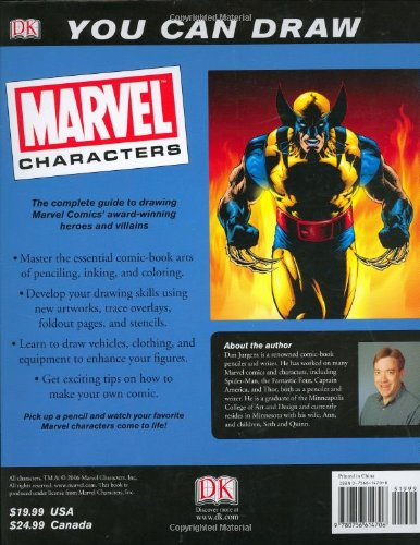 You Can Draw: Marvel Characters