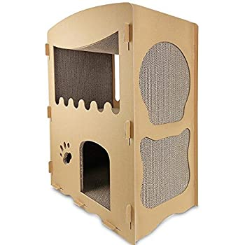 omega paw cat castle cat houses and condos. Black Bedroom Furniture Sets. Home Design Ideas