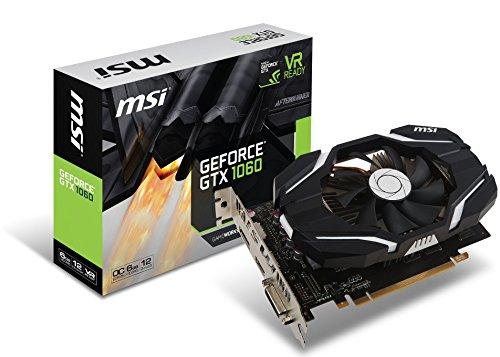 MSI GeForce GTX 1060 DirectX 12 GTX 1060 6G OCV1 6GB 192-Bit