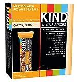 Gourmet Food : KIND Bars, Maple Glazed Pecan & Sea Salt, Gluten Free, 1.4 Ounce Bars, 12 Count