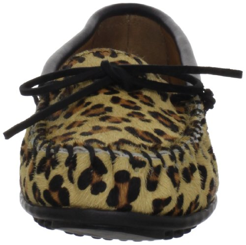 Multicolor Minnetonka Cuero Moc Leopard Mujer De Mehrfarbig Multicolore leopard Full Mocasines OqxRp0O