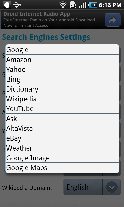 Super Search Bar Lite