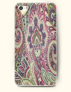 SevenArc Apple iPhone 5 5S Case Paisley Pattern ( Mult-Colored Buteh Tree a Symbol of Life and Eternity )