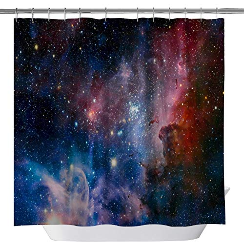 Window Treatments & Hardware 3d Planets Galaxy 72 Shower Curtain Waterproof Fiber Bathroom Windows Toilet Complete In Specifications Home & Garden