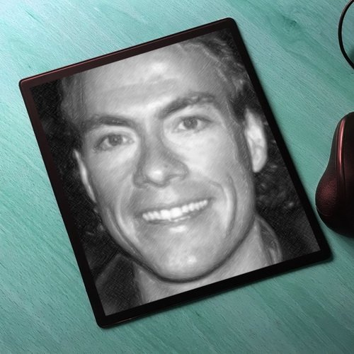 Seasons Jean-Claude Van Damme - Original Art Mouse Mat #js001