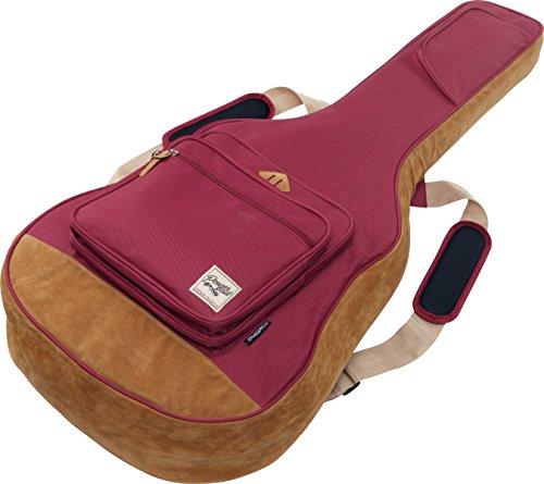 Ibanez IAB541WR POWERPAD Acoustic Guitar Bag, Wine Red Wine Red Guitar