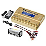 LiPo Charger Balance Discharger 1S-6S Digital Battery Pack Charger for NiMH/NiCD/Li-Fe Packs w/LCD