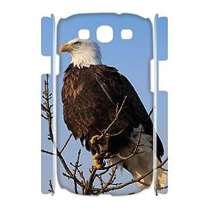 Bald Eagle Unique Design 3D Cover Case for Samsung Galaxy S3 I9300,custom cover case ygtg579381