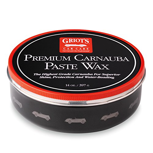 Griot's Garage 11029 Premium Carnauba Paste Wax 14oz (Premium Paste)