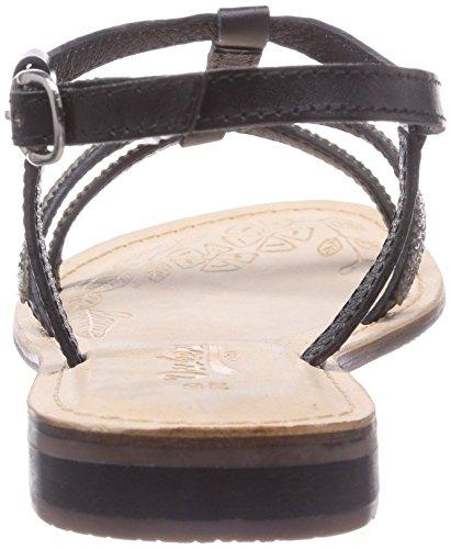 Dockers by Gerli 34FL209 - Sandalias de vestir de cuero para mujer negro - negro