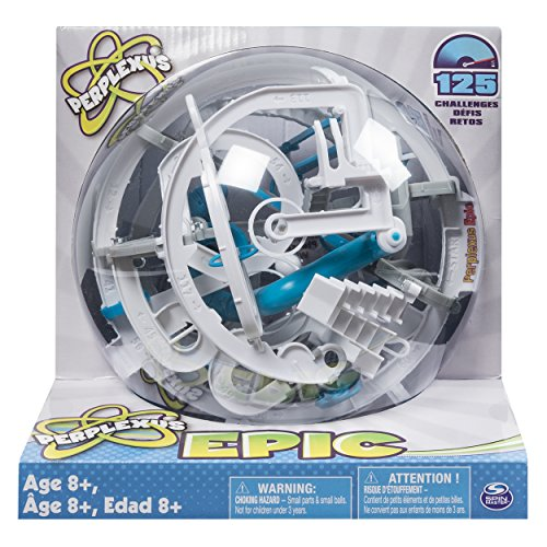 Spin Master Games Perplexus Epic  Challenging Interactive Maze Game with 125 Obstacles