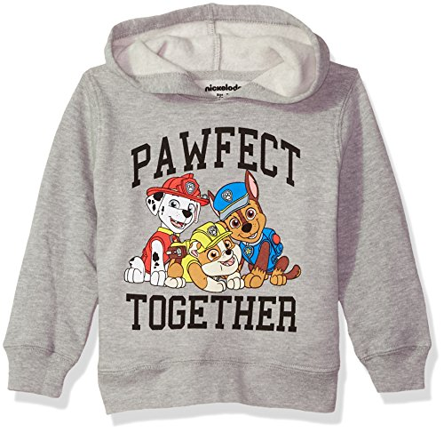 Nickelodeon Boys' Toddler Paw Patrol Pullover Fleece, Pawfect, 2T]()