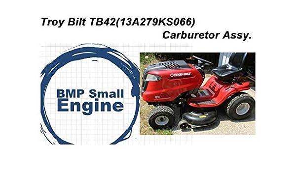 Carburetor Carb Assy For 547cc Troy Bilt TB42 13A279KS066 Mower Tractor 4X90HU