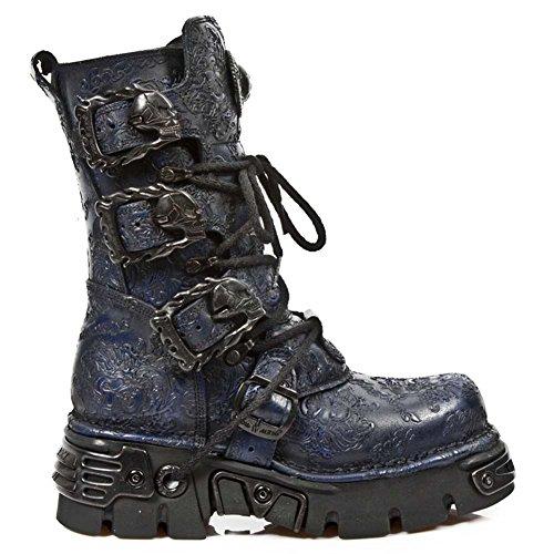 New Rock Metallic Blau Stiefel M.391-S20 Blue