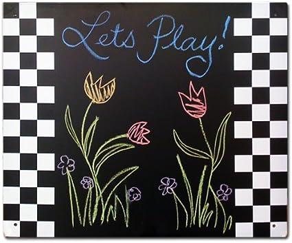"""Swing-N-Slide WS 4208 Magnetic Chalkboard Swing Set Accessory 16/"""" x 14/"""" Black"""