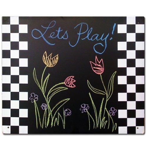Swing-N-Slide Magnetic Chalkboard