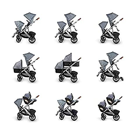 Amazon.com : 2018 UPPAbaby Vista Stroller - With Cup Holder -Henry : Baby