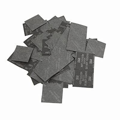 3M Anti-Tarnish Paper Tabs 1x1 Inch Square (100 Tabs) by 3M