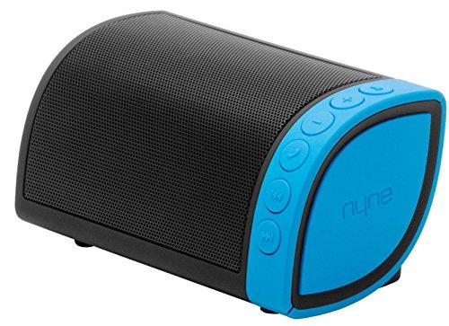 NYNE Multimedia Inc Cruiser Portable Bluetooth Speaker (Black/Blue)