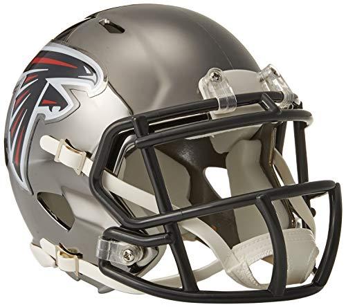 Riddell Chrome Alternate NFL Speed Authentic Mini Size Helmet Atlanta Falcons (Authentic Riddell Mini Helmet)