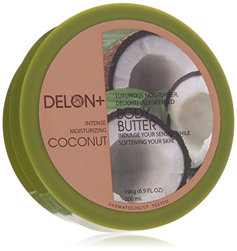 Delon Coconut Body Butter, Coconut, 6.8 - Delon Skin Cream