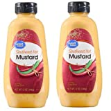 Southwest Hot Mustard, 12 oz, pack of 2, perfect condiment for crispy chicken tenders